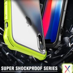 Coque rigide FLOVEME contours Bumper antichoc Apple iPhone X