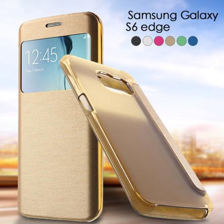 Etui folio Window View Samsung Galaxy S6 Edge