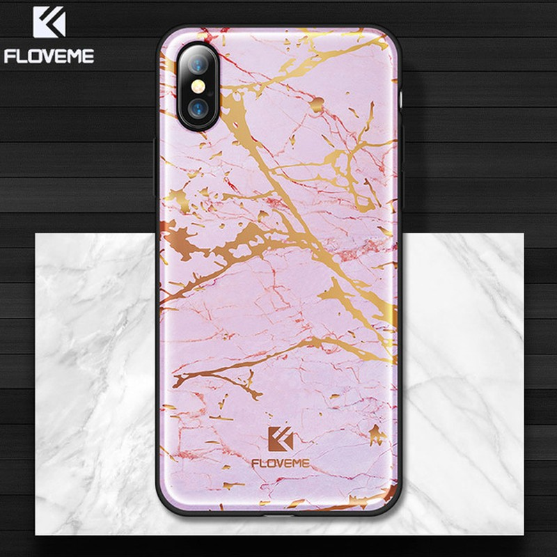 coque iphone x marbre rigide