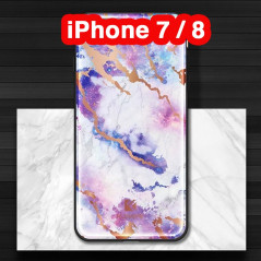 Coque rigide FLOVEME Effet Marbré Apple iPhone 7/8