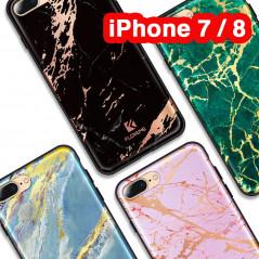 Coque rigide FLOVEME Effet Marbré Apple iPhone 7/8
