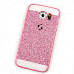 Coque pailletée Powder Glitter Samsung Galaxy S6
