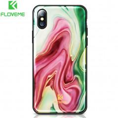 Coque rigide FLOVEME Agate Series Apple iPhone X