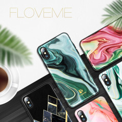 Coque rigide FLOVEME Agate Series Apple iPhone X/Xs