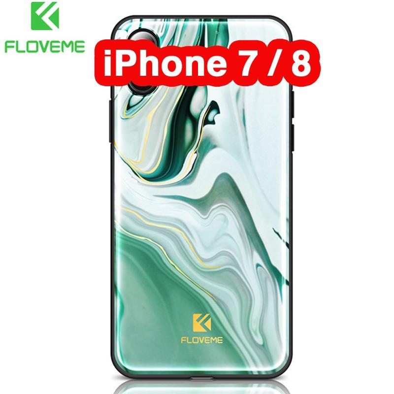Coque rigide FLOVEME Agate Series Apple iPhone 7/8 Vert