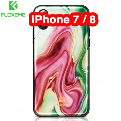 Coque rigide FLOVEME Agate Series Apple iPhone 7/8