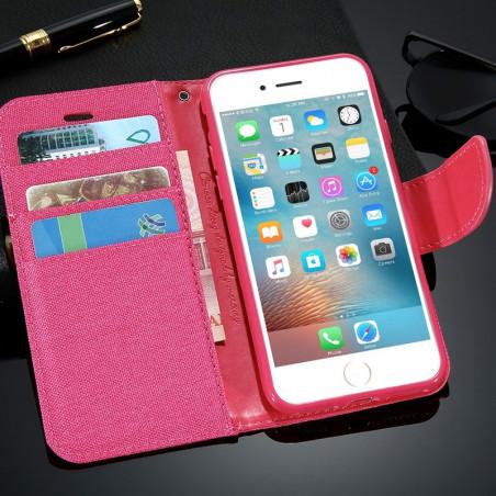 Etui folio CLOTH SKIN Apple iPhone 6/6S