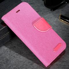 Etui folio CLOTH SKIN Apple iPhone 6/6S Rouge