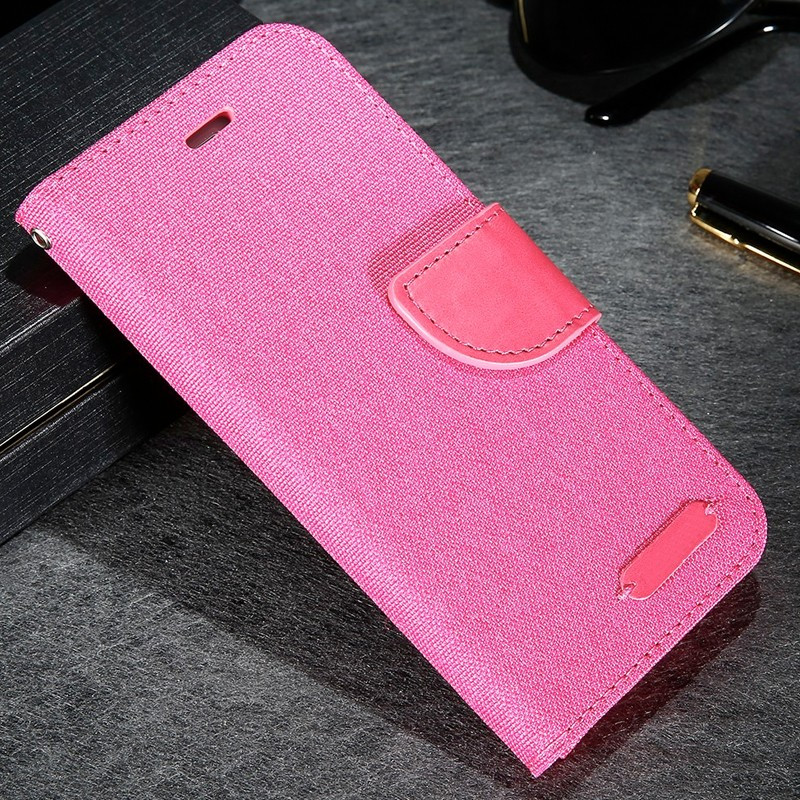 Etui folio CLOTH SKIN Apple iPhone 6/6S Rose
