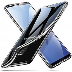 Coque silicone gel ESR 3D Plating contours métallisés Samsung Galaxy S9
