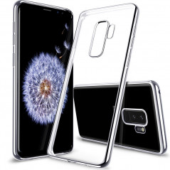 Coque silicone gel ESR 3D Plating contours métallisés Samsung Galaxy S9 Plus