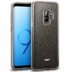 Coque rigide ESR pailletée étincelante Samsung Galaxy S9