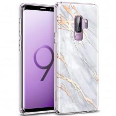 Coque silicone gel ESR Effet Marbré Samsung Galaxy S9 Plus