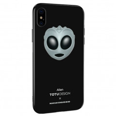 Coque rigide TOTUDesign Vitros Animoji Series Apple iPhone X/Xs Alien