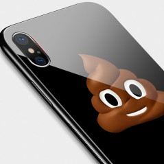 Coque rigide TOTUDesign Vitros Animoji Series Apple iPhone X Poop