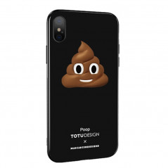 Coque rigide TOTUDesign Vitros Animoji Series Apple iPhone X/Xs Poop