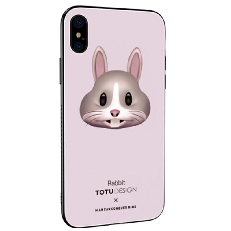 Coque rigide TOTUDesign Vitros Animoji Series Apple iPhone X Rabbit