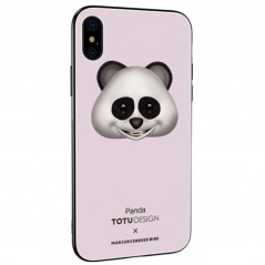 Coque rigide TOTUDesign Vitros Animoji Series Apple iPhone X/Xs Panda
