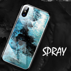Coque rigide TOTUDesign Vitros ink Series Apple iPhone X Spray