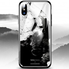 Coque rigide TOTUDesign Vitros ink Series Apple iPhone X Splash