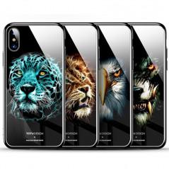 Coque rigide TOTUDesign Vitros Animals Series Apple iPhone X Aigle