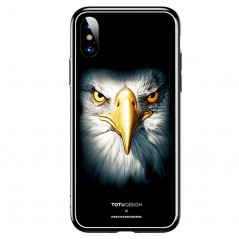 Coque rigide TOTUDesign Vitros Animals Series Apple iPhone X/Xs Aigle