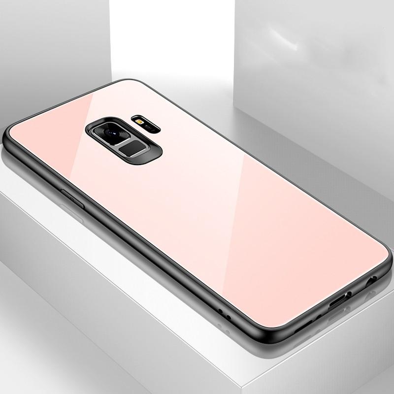 Coque rigide CAFELE Vitros Series Samsung Galaxy S9 Rose