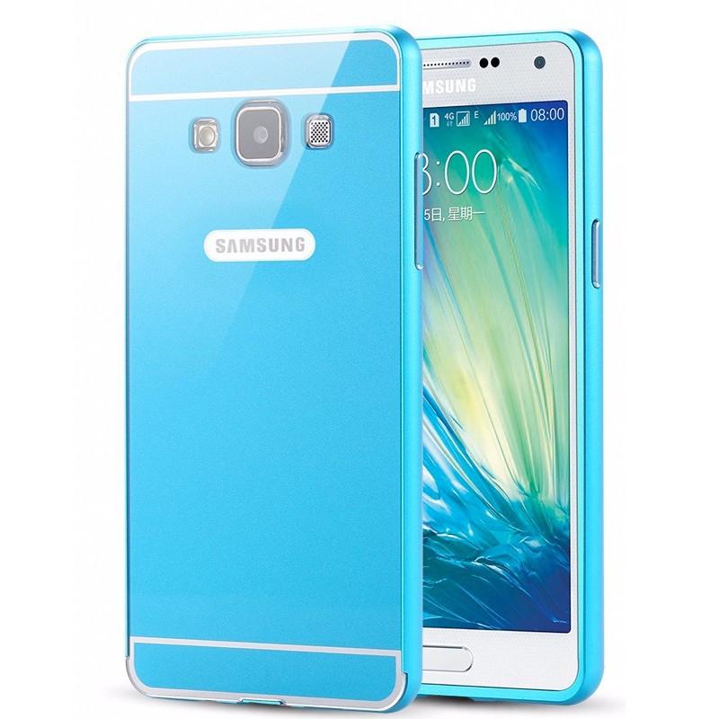 Coque aluminum Samsung Galaxy A7 Bleu