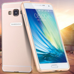 Coque aluminum Samsung Galaxy A7 Or