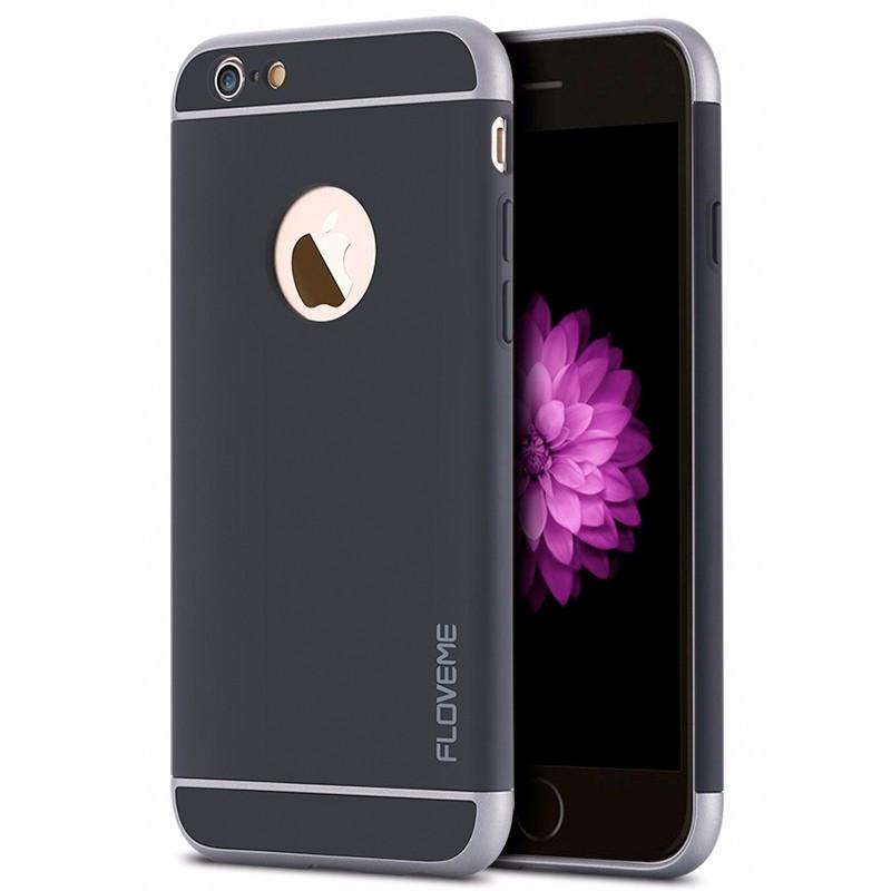 Coque FLOVEME SPRAY FROSTING Apple iPhone 6/6S Noir
