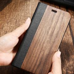 Etui folio Natural Wood Apple iPhone 6/6S Plus