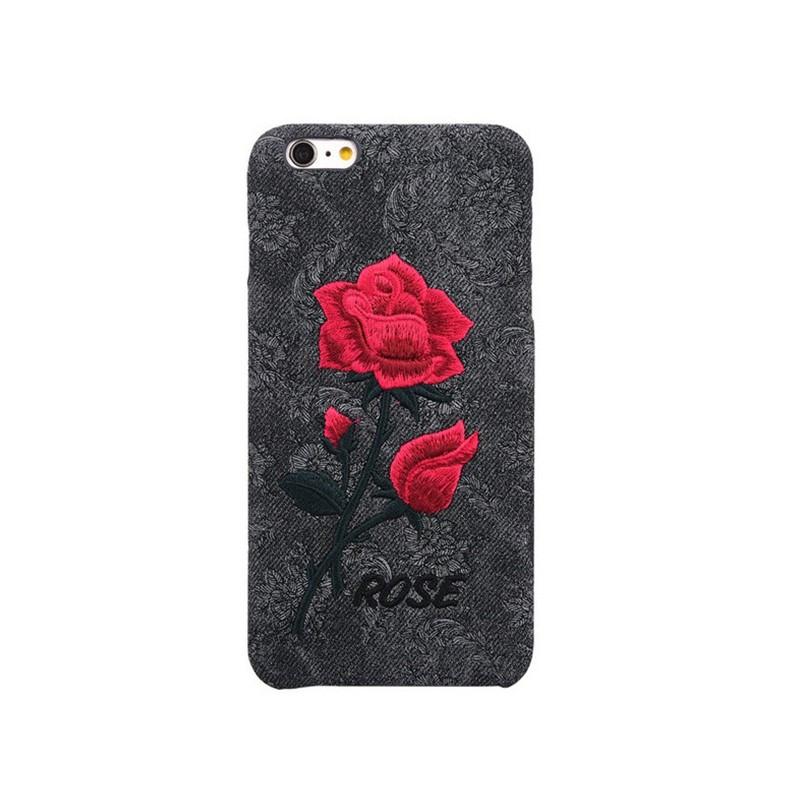 Coque rigide ETERNAL ROSE Apple iPhone 6/6s Noir