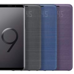 Etui folio Samsung EF-NG965P LED View Samsung Galaxy S9 Plus