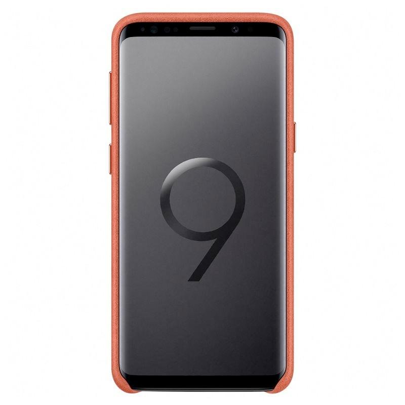Coque Samsung EF-XG960A Alcantara Samsung Galaxy S9 Rouge