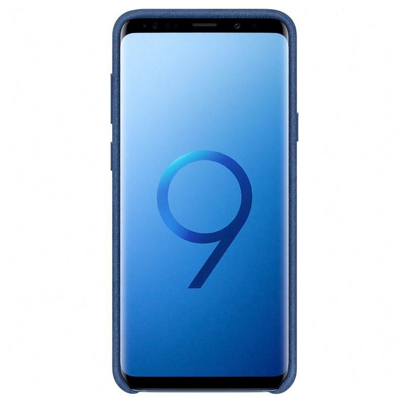 Coque Samsung EF-XG965A Alcantara Samsung Galaxy S9 Plus Bleu