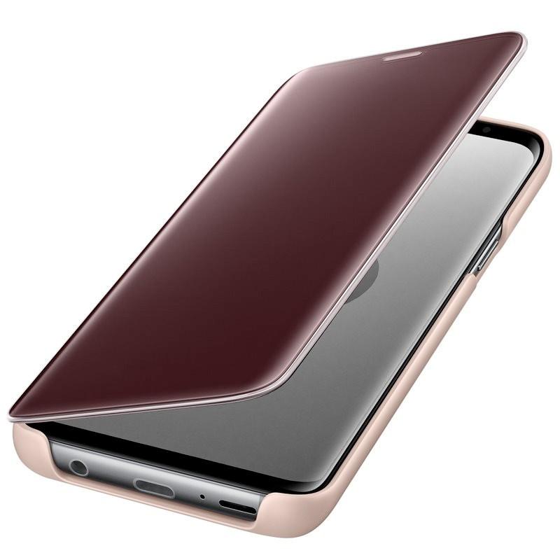 Etui folio Samsung EF-ZG960C Clear View Standing Samsung Galaxy S9 Or