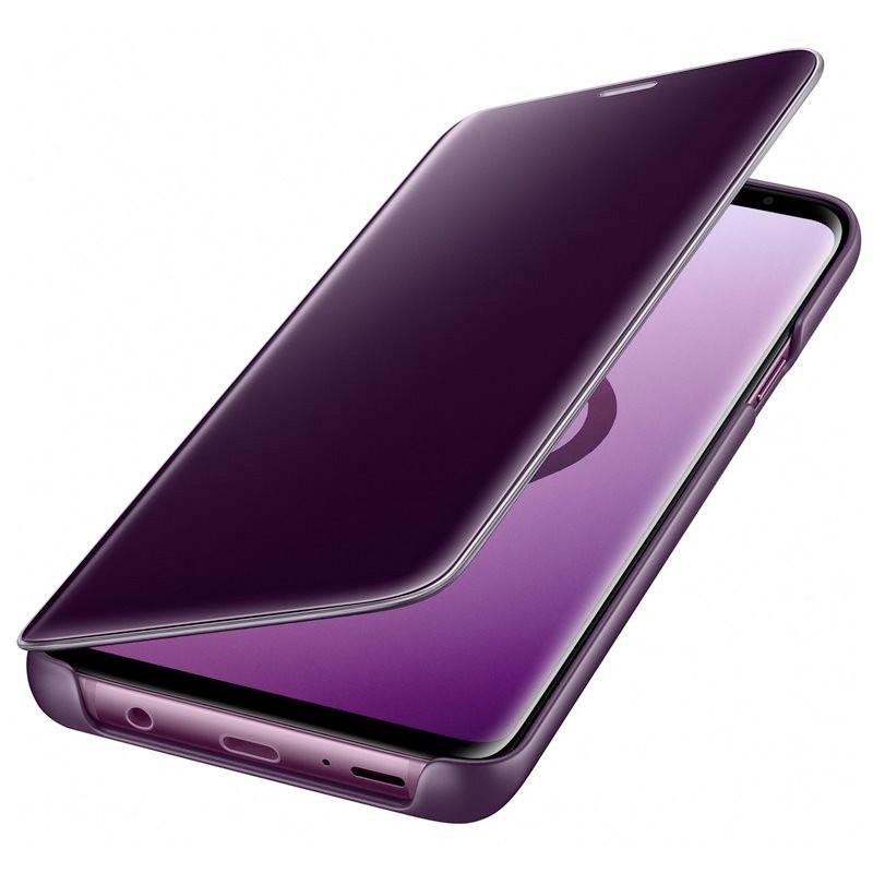 Etui folio Samsung EF-ZG965C Clear View Standing Samsung Galaxy S9 Plus Violet