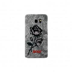 Coque rigide ETERNAL ROSE Samsung Galaxy S6 Edge Plus Rose