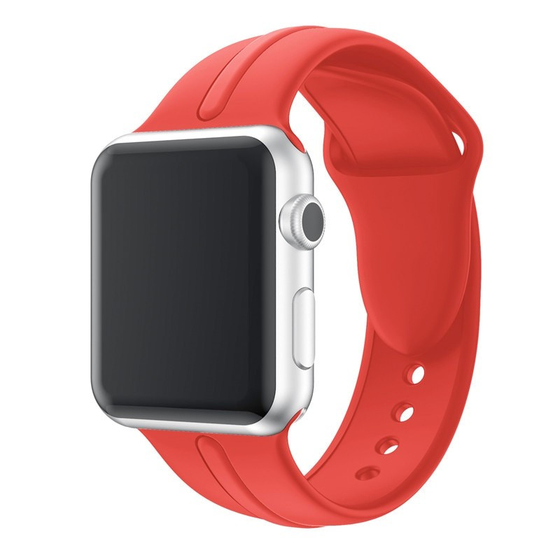 Bracelet sport Apple Watch 1/2/3/4 (38/40mm) Rouge
