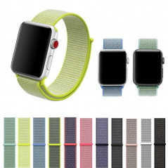 Boucle sport nylon tissé Apple Watch 1/2/3/4/5 (42/44mm)