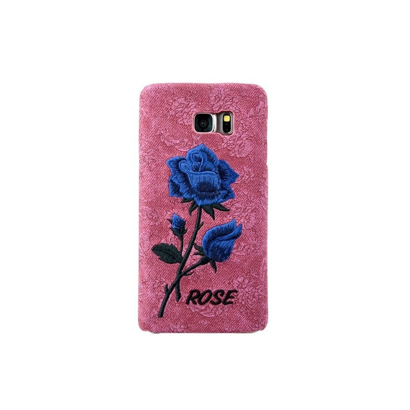 Coque rigide ETERNAL ROSE Samsung Galaxy S6 Edge Plus Rose