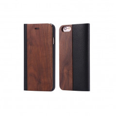 Etui folio Natural Wood Apple iPhone 6/6S