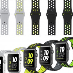 Bracelet sport respirant (Taille M/L) Apple Watch 1/2/3/4/5 (38/40mm)