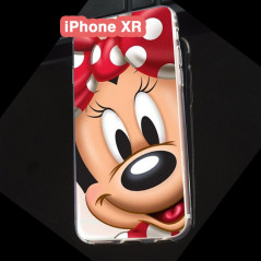 Coque silicone gel Minnie Mouse Apple iPhone XR