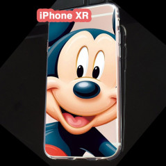 Coque silicone gel Mickey Mouse Apple iPhone XR