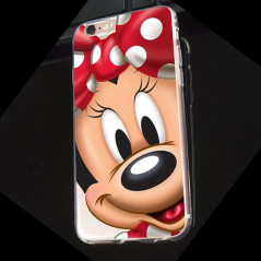 Coque silicone gel Minnie Mouse Apple iPhone 6/6S Plus