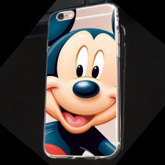 Coque silicone gel Mickey Mouse Apple iPhone 6/6S Plus