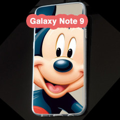 Coque silicone gel Mickey Mouse Samsung Galaxy Note 9