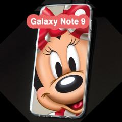 Coque silicone gel Minnie Mouse Samsung Galaxy Note 9