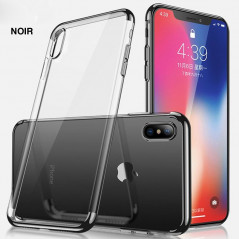 Coque silicone gel CAFELE 3D Plating contours métallisé Apple iPhone Xs MAX